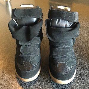 Isabel Marant Beckett calfskin shade sneakers